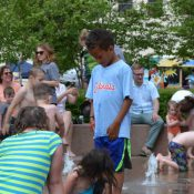 Tulsa park fountain (Credit: Jennifer Griffin)