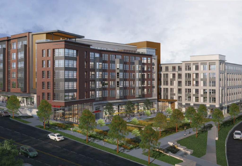 The planned Columbia Pike Village Center in Arlington, VA