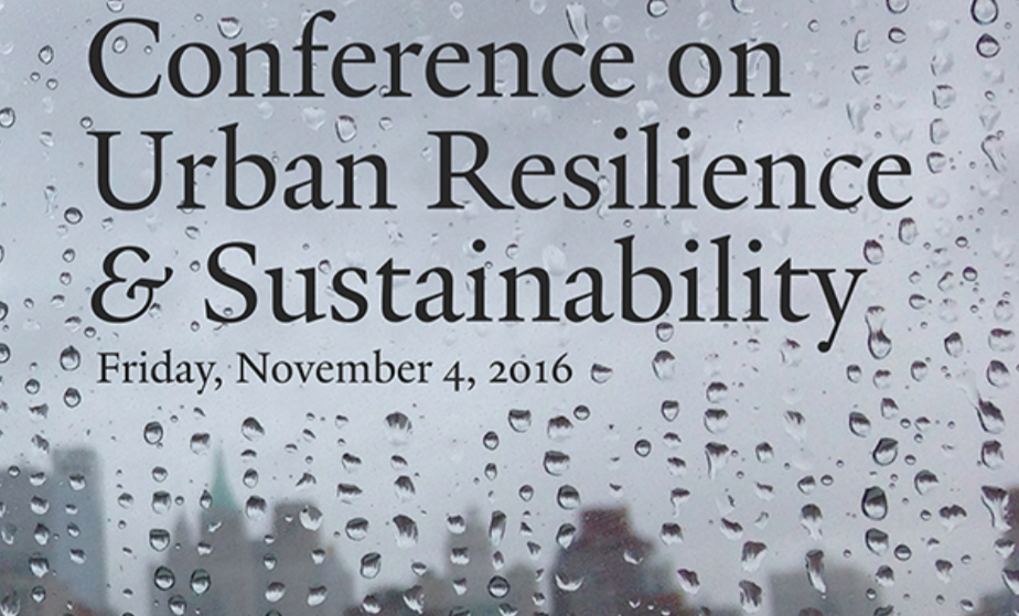 nov 2016 resilience and sustainability