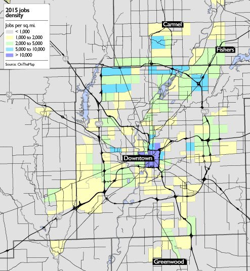 Can Transit Work Well in a Sprawling City Like Indianapolis ...